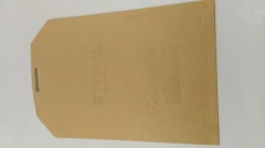Kraft paper file packaging bag