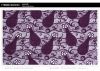Latest purple net dress designs embroidered lace fabric