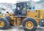 Large Construction Equipment Front End Wheel Loader With 4.2 CBM Bucket Volume