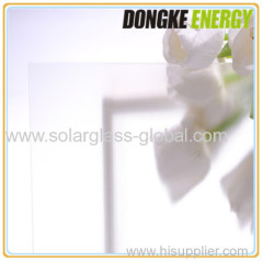 AR coating low iron solar patterned glass