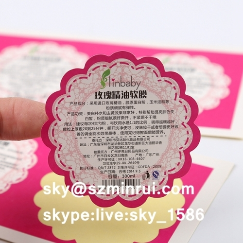 Permanent Adhesive Labelsprivate Labelcheap Custom Stickers From - Custom stickers cheap