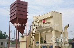 China Bentonite Grinding Machine with Large Capacity