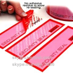 Waterproof Warranty Void Sealing Sticker for Electronics Security Void Seal Label