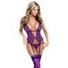 Sexy Underwear Women Sexy Lingerie Ladies Transparent Conjoined Dress Suit