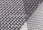 High Strength Pet Mesh Fabric Polyester / Fiberglass Screen Mesh