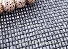 Black / Charcoal Plain Weave Pet Proof Window Screen 14x16 Mesh