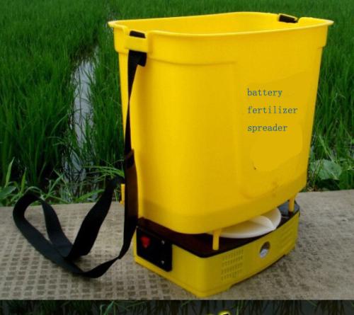 Electric Fertilizer Spreader rechargeable battery Fertilizer Spreader dynamo electric Fertilizer Spreader Portable