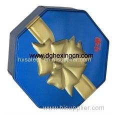 embossed tin waffle box
