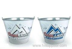 Round ice tin bucket