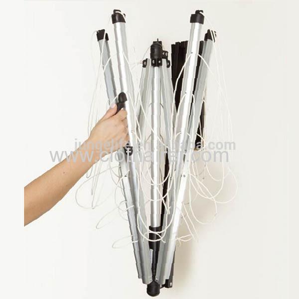 18 Meter Drying Space 5 Arm Umbrella Aluminum Folding