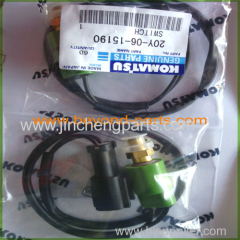 Komatsu excavator PC120-5 pressure sensor switch 20Y-06-15190
