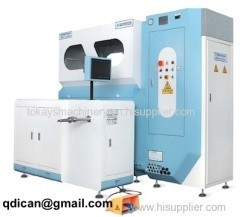 Down feather jacket filling machine