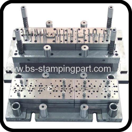 progressive stamping die for metal parts