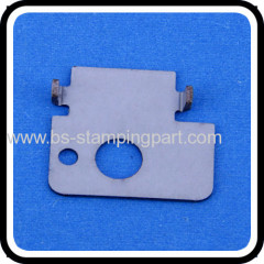 stamping zinc plated plate with CNC parts