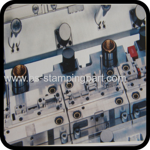 customized machinery metal stamped mould