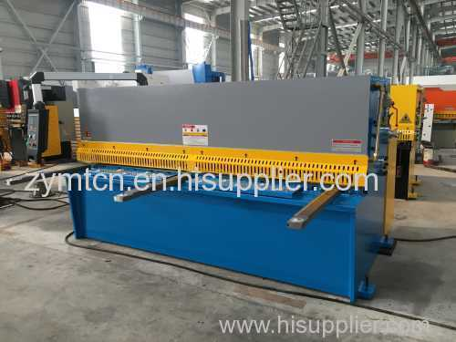 digital controller shear with backguage pneumatic surpport