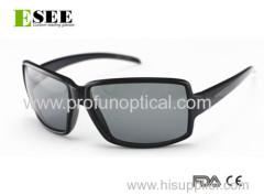 RECTANGULAR Big Eye Fashionable Black Sunglasses