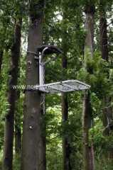 Outdoor peuplement d'arbres d'un homme