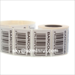 Fast Delivery High Quality Tamper Evident Barcode Stickers Warranty Barcode Labels