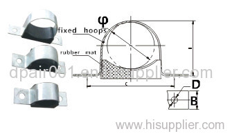 middle-lower pressure JGT-2 cable clamp