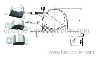 insulation JGH-1 flexibility core cable clamp