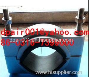 High pressure single core cable clamp