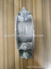 high tension JGP-4 rigidity three core cable clamp