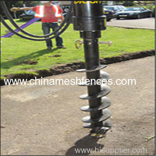 Wholesale hot galvanized ground screw pile anchor spiral ground anchor