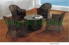 Patio table set outdoor rattan table chair furniture sets