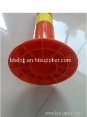 FRP warning column/ traffic plastic warning bollard