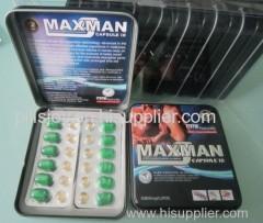 MAXMAN IX Penis-enlarging Capsules for Man Weak Sperm
