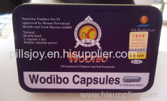 Cheap Wholesale Male Penis Enlargement Sex Pills Wodibo Capsules 100% Pure Sex Medicine