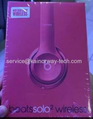 New Beats by Dre Beats Solo2 Wireless On Ear Bluetooth Headphones Pink