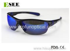 Semi-Rimless Diamond Design Cool Sunglasses