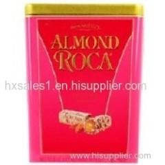 Luxury rectangle coffee tin box