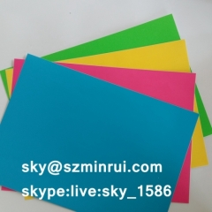 Factory Manufacture Color Destructible Paper Materials Colorful Fragile Papers Label Vinyl