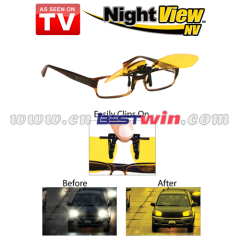 Anti Glare Night Driving Glasses Clip On Night Vision Glasses As Seen On TV