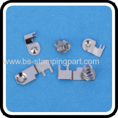 stamping metal high quality d battery contacts