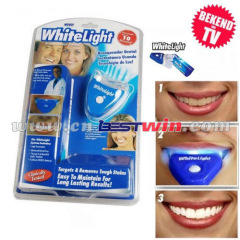 LED White Light Oral Gel Kit Removing Stains From Teeth