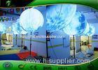 Custom Inflatable Lighting Decoration Advertising Tripod Balloon / Stand Lighting Balloon