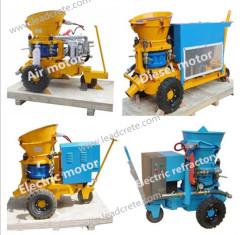 dry mix Shotcrete machine