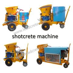 dry mix gunite machine