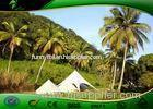 Waterproof PVC Camping Star Shade Tent WithAluminum Alloy Frame