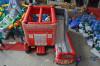 fire truck slide/ china inflatable slide manufacturer