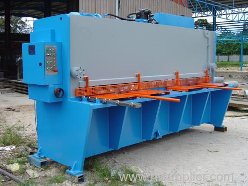 guillotine shearing machine steel cutting machine