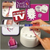 Manicure Station Nail Perfect/ Nail Polishing Tool /Perfect Salon Nails At Home As Seen On TV