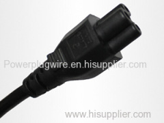 Power cord IEC 60320 connector