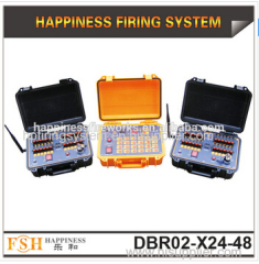 500 M wireless control firing system rechargeable pyrotechnic fire system 48 cues fireworks system