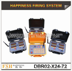 72 channels Salvo and Sequential (Rapid) firing system 500 M Remote Control Fireworks Firing System