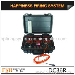36 Channels fireworks firing system wire /wireless control fire system Happiness Fireworks Firing System